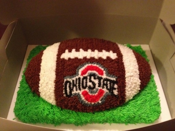 Megan needs to make this for me!!! Go Buckeyes!