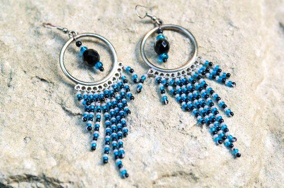 Earrings Blue Eye by bellinaeurope on Etsy