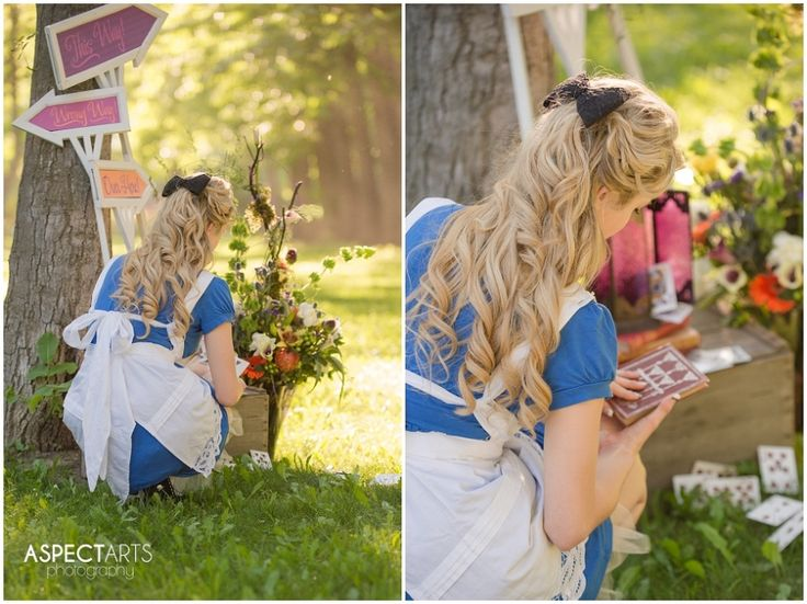 Such a fun shoot! Alice in Wonderland – a Creative Collaboration | Aspect Arts Photography