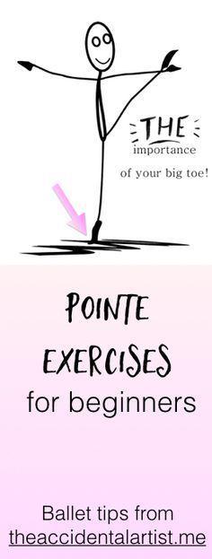 On Pointe , Foot strength, Beginning pointe videos