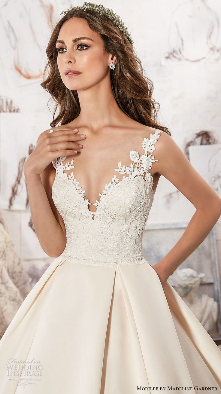 Casual wedding dresses with color   best Wedding dress images on Pinterest  Gown wedding Short
