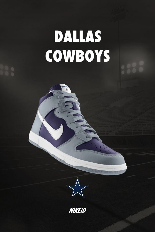 Mens Size M Nike Dallas Cowboys Shoes