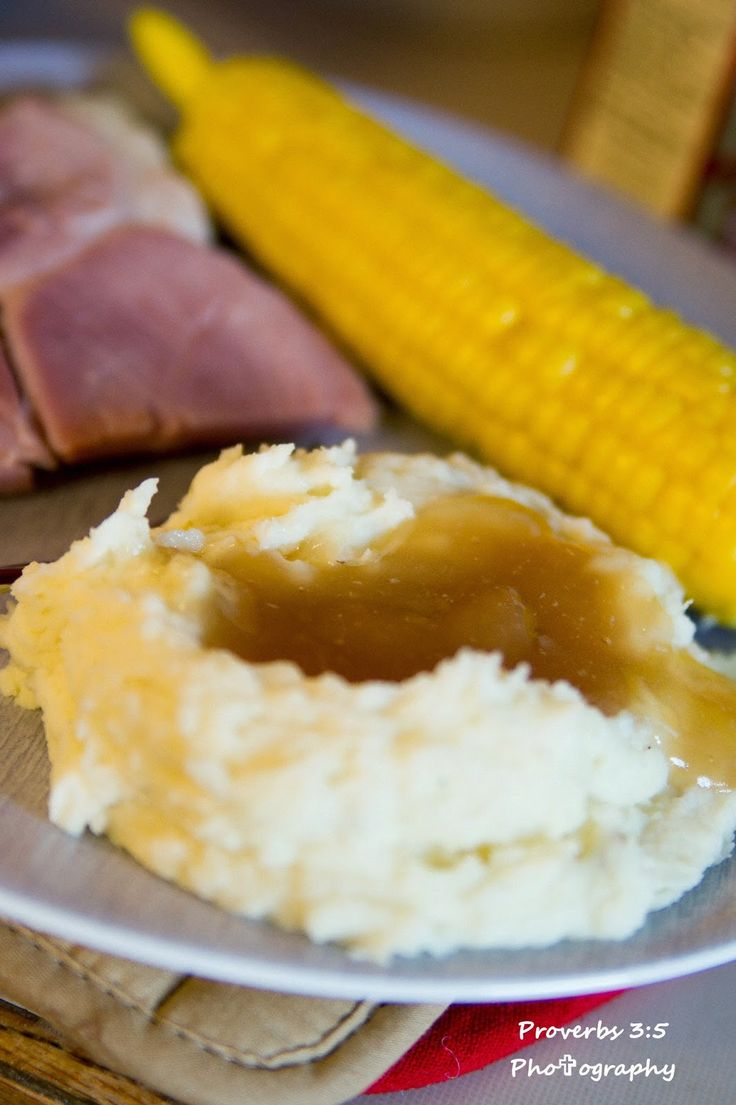 Just in time for Easter.      Growing up anytime my family had a cooked ham…We'd have ham gravy. I thought this was a normal American T...