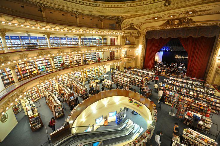 """""""Libreria El Ateneo"""" Buenos Aires, Argentina - Es un lugar hermoso, me encantó"""