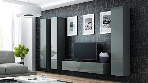 seattle 180 4cc wall unit / hanging entertainment centres / living