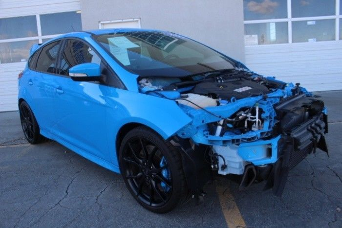 2017 Ford Focus Rs Hatch Ford Focus Rs Ford Focus Auto Body Shop