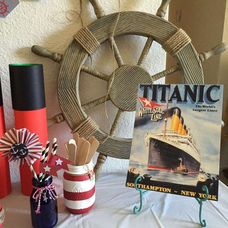 22 Best Images About {Titanic Quinceanera Theme} On Pinterest