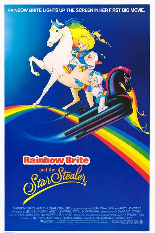 "Ok, hear me out before you dismiss Rainbow Brite all together.  I pinned it for one reason: ""The Beginning of Rainbowland.""  The 2-part episode was a dark epic and completely unlike the rest of the show.  Click to check it out."