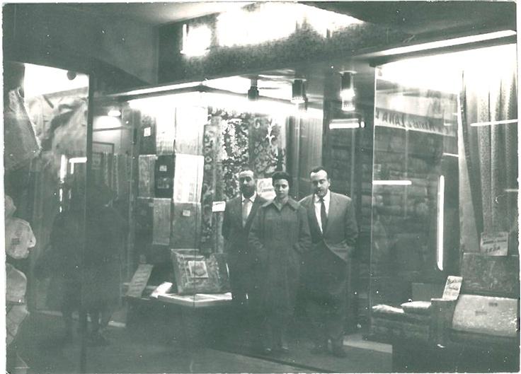 Fundadores de La Mallorquina. Francisco, Margarita y Gabriel Jené