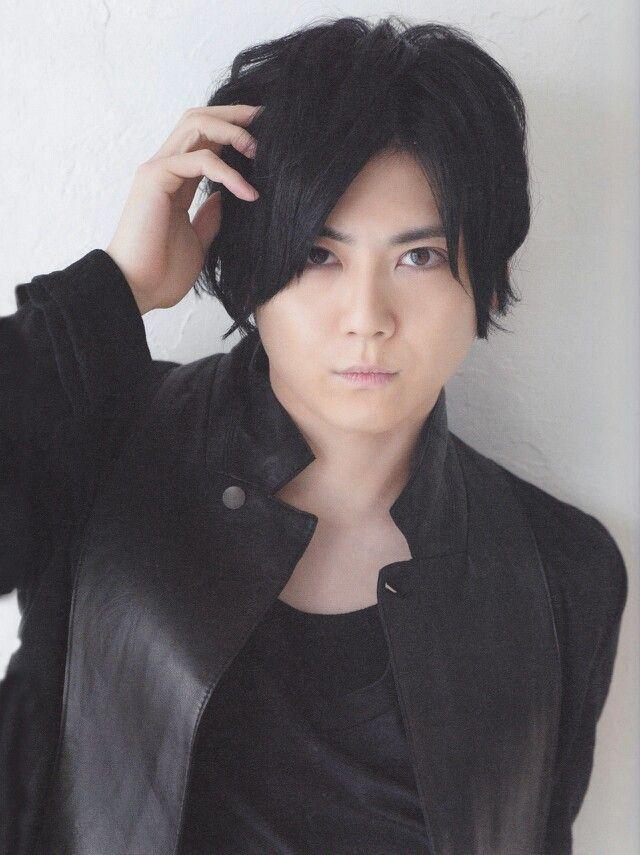 Kaji yuki in black leather jacket., so damn sexy,,