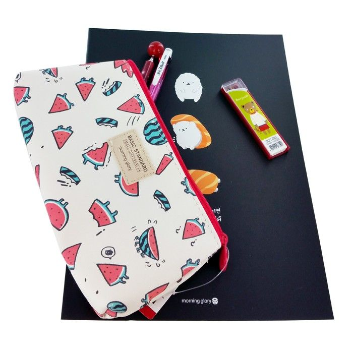 Fruits Cosmetic Pouch & Pencil Case