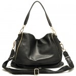Black Claire Leather Handbag  $269.95 FREE SHIPPING WITHIN AUSTRALIA available online at sterlingandhyde.com.au