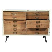 Railway Low Chest of Drawers
