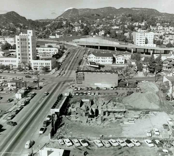 History of Hollywood, California