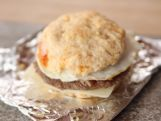 Ree Drummond's knocking out hearty Breakfast Biscuits that her husband…