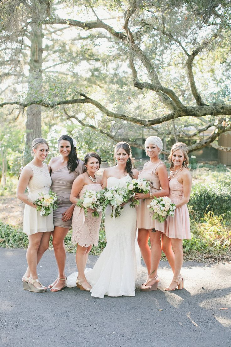 166 best mismatched bridesmaid looks images on pinterest hint of glamour napa estate wedding mismatched bridesmaid dresseswedding ombrellifo Choice Image