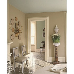 neutral living room from Martha Stewart. paint for living ...