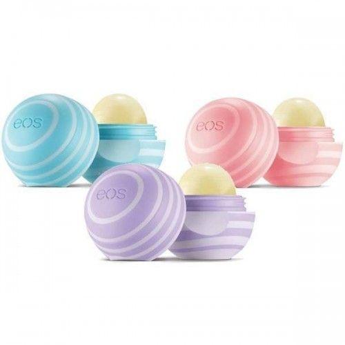 eos Visibly Soft Smooth Sphere Lip Balm Trio | Buy Online | Lip Balm Land