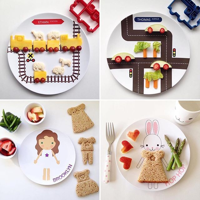 Road and track plates + dress up personalized plates let Kids play with their food by ... | Use Instagram online! Websta is the Best Instagram Web Viewer!