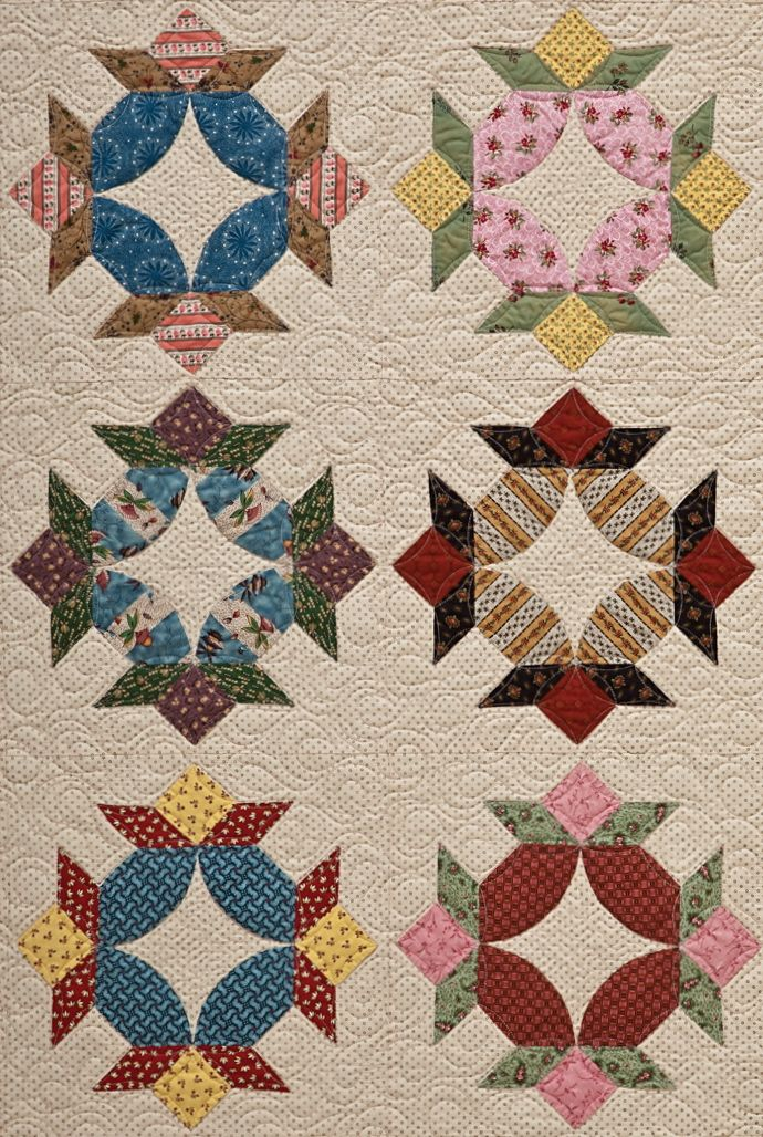 "Vintage inspired: ""Square Dance"" by Sue Daley ctpubblog .com"