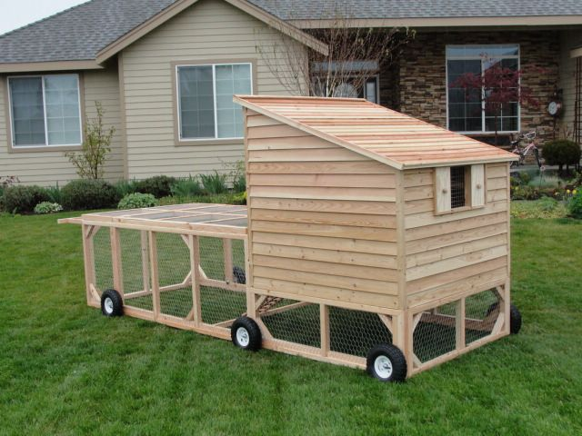 Diy mobile chicken house
