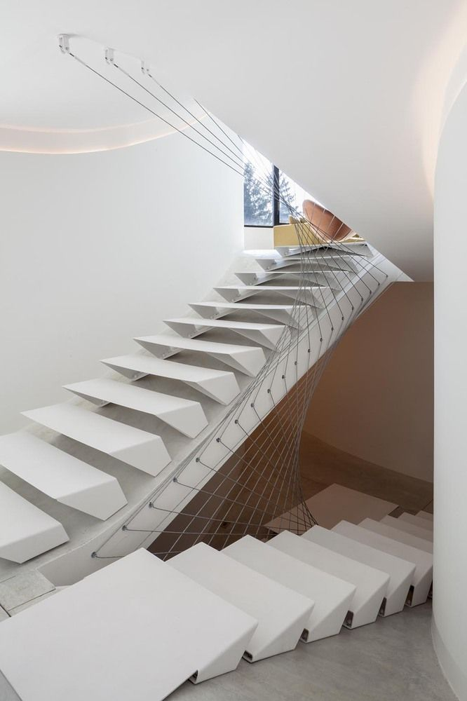 #Escaleras | Galería de VILLA MQ / Office O architects - 3. #arquitectura #architecture #design #diseño
