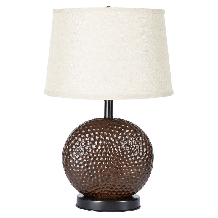 Traditional Hammered Bronze Table Lamp Base - LT1172-R-COM