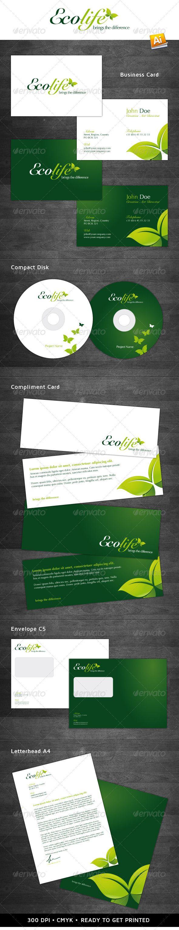 Ecolife Corporate Identity