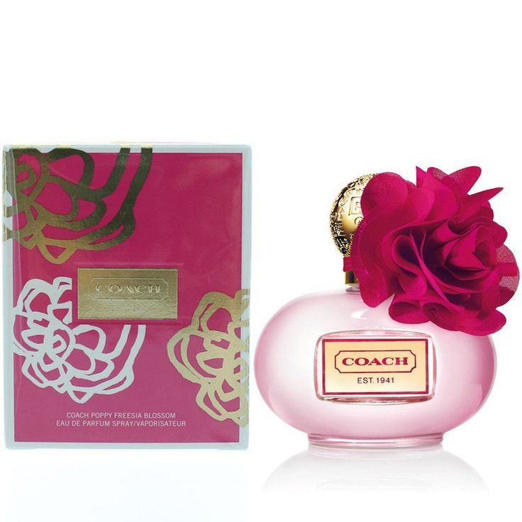 Coach Poppy Freesia Blossom 3.4 oz EDP for women