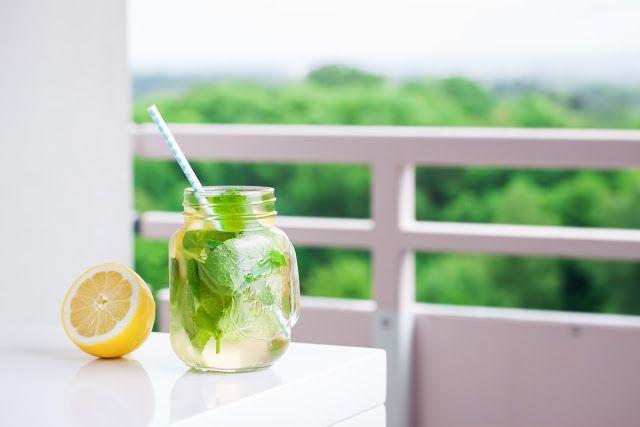 Água Detox com frutas