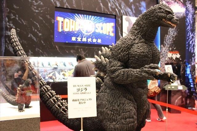「ゴジラ」「セーラームーン」「スターウォーズ」バンダイブースは大人が楽しめるフィギュアで満載@東京おもちゃショー2016