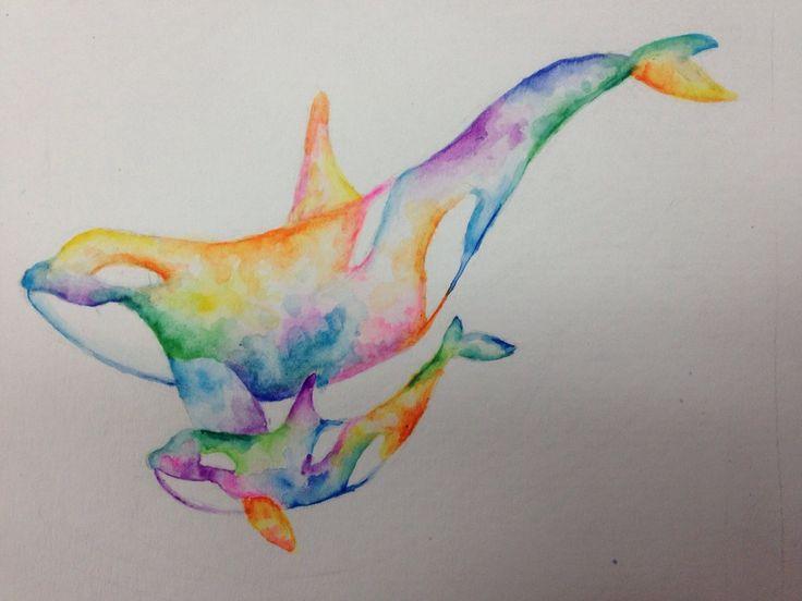 Watercolor tattoo concept by mariana-a.deviantart.com on @deviantART