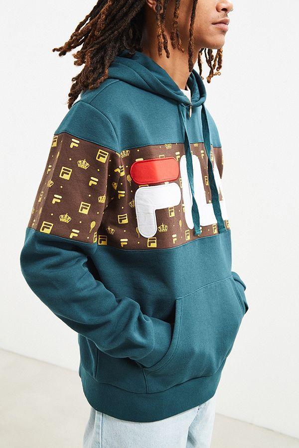 8198a52c8982 FILA + UO Monogram Hoodie Sweatshirt