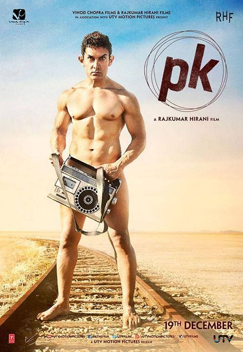 Aamir Khan's First Look in PK