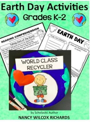 A complete Earth Day resource! Tons of fun and engaging activities including easy readers, writing, math, art, an original song, and lots of printables! (scheduled via http://www.tailwindapp.com?utm_source=pinterest&utm_medium=twpin&utm_content=post155574027&utm_campaign=scheduler_attribution)