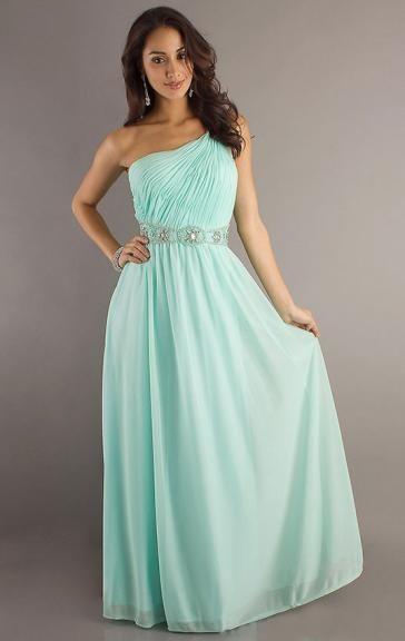 Unique Mint Bridesmaid Dress LFNAF0101-Bridesmaid UK