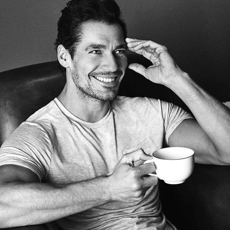 """Mi piace"": 3,016, commenti: 38 - David Gandy (@ohmygandy) su Instagram: ""Coffee anyone? ☕ #GandyForAutograph @marksandspencer"""