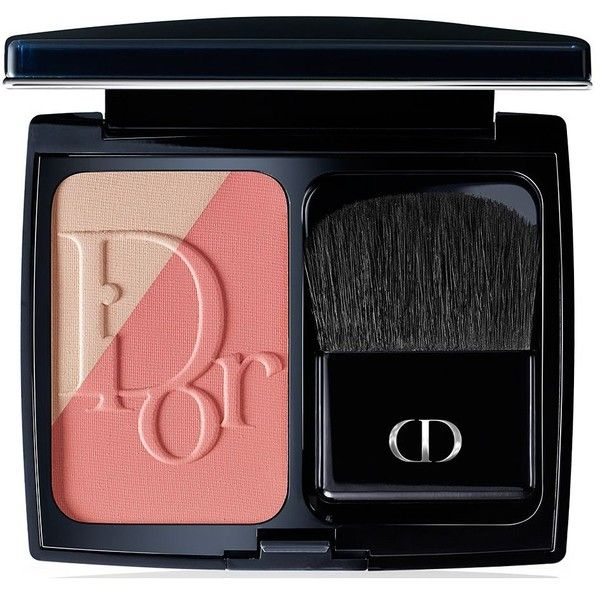 Diorblush Sculpt Professional Contouring Powder Blush found on Polyvore featuring beauty products, makeup, cheek makeup, blush, cosmetics, apparel & accessories, multicolored, christian dior and powder blush