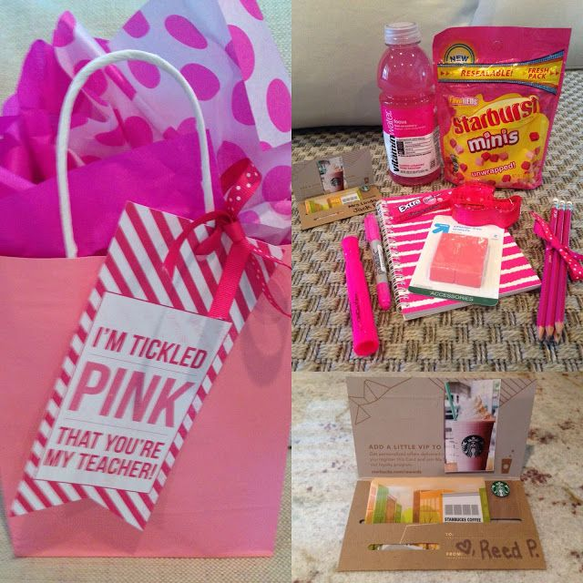 TheHappyTeacher: Teacher Gift: I'm Tickled Pink that You're My Teacher