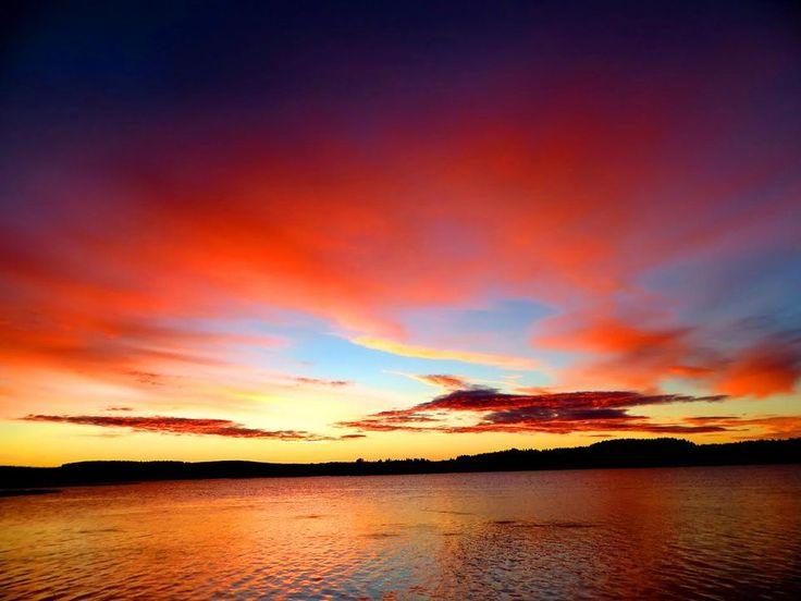 Sääkuva: Aamuinen taivaanranta