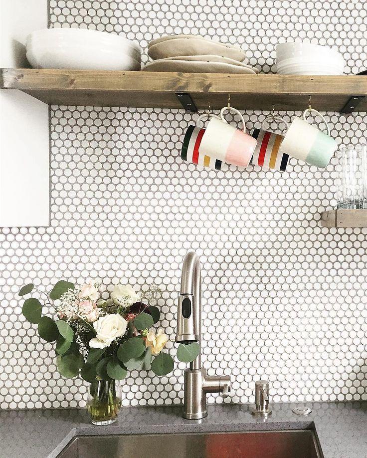 Kitchen Tiles Colour Combination: Best 20+ Penny Backsplash Ideas On Pinterest