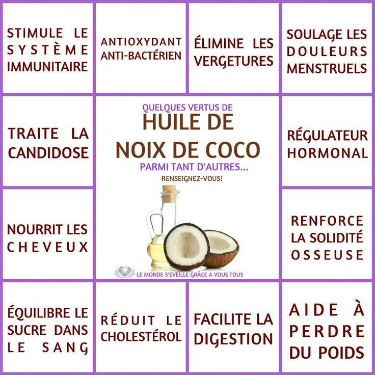 HUILE DE COCO | Le Monde s'éveille