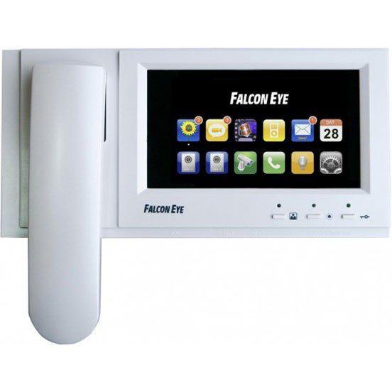 """Внутренний монитор Falcon Eye FE-71TM VZT FE-71TM VZT Falcon Eye FE-71TM VZT - домофон с цветным широкоформатным сенсорным экраном 7"""" дюймов. Интуитивно понятное русскоязычное меню. FE-71TM VZT работает со всеми распространенными вызывными панелями такими как Activision, Commax, Falcon Eye. Видеодомофон поддерживает подключение 2-х цветных вызывных панелей и 2-х цветных камер видеонаблюдения. Возможно подключение до 4-х мониторов параллельно. Запись видео/фото по детектору движения. Запись…"""