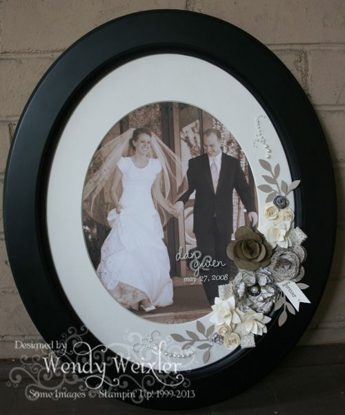 Stampin' Up! Frame by Wendy Weixler at Wickedly Wonderful Creations: 2012  Artisan Award