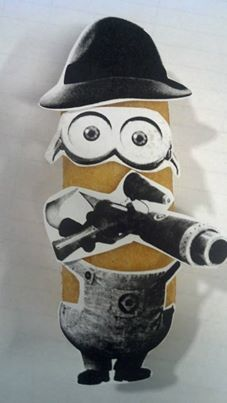 Secret Agent Twinkie disguised as a Minion, disguised as a Twinkie Minion. Submit your own here: http://www.facebook.com/Hostess/app_170621563134175