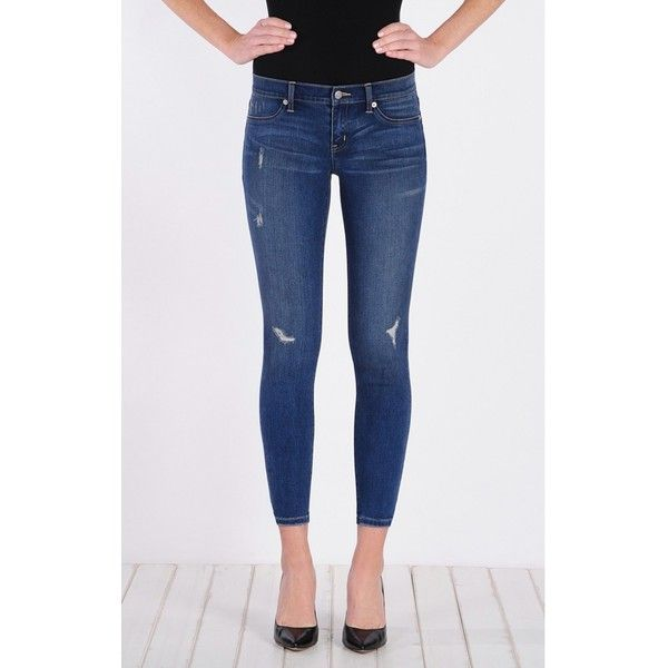 Henry & Belle Super Skinny Ankle ($149) ❤ liked on Polyvore featuring jeans, archive, denim, skinny, women, ankle length jeans, skinny jeans, cropped denim jeans, straight jeans and denim skinny jeans