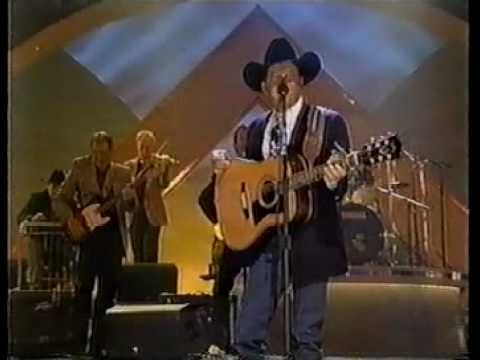 George strait we really shouldn t be doing this from the 1998 cma
