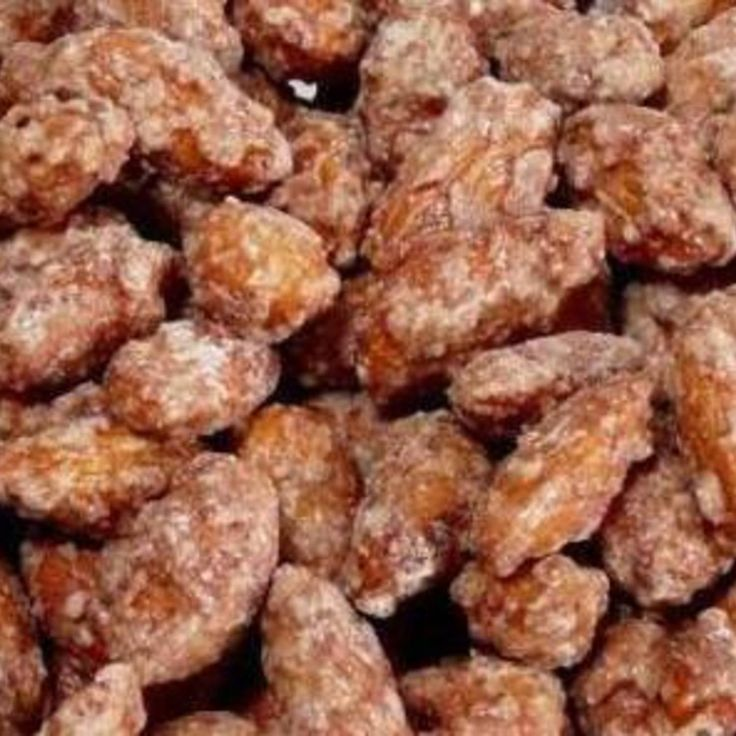 CROCKPOT CINNAMON ALMONDS... I just got super excited when I thought how awesome these would be for a xmas party!