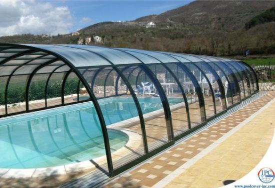 Experience the eternal swimming pleasure with Telescopic Pool Enclosures | Designbuzz : Design ideas and concepts