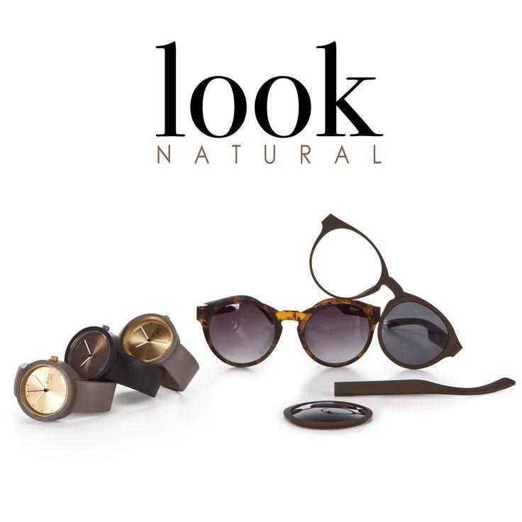 #Osun, gli occhiali da sole componibili dalla texture effetto natural Un look estivo da completare con #Oclockgreat! #oclock #osun #occhiali #sunglasses #customize #obag